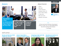 Columbia Medicine Magazine Website