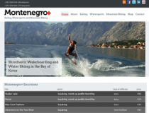 Montenegro Plus website